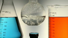 Chemistry Lab experiment - stock footage