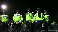 police stand by event entrance Footage