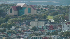 The Rooms Provincial Museum And Art Gallery, St Johns Newfoundland Canada Stock Footage