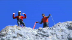 Bungee Jumping - stock footage