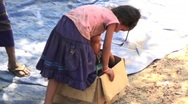 Stock Video Footage of Cambodian kids in box