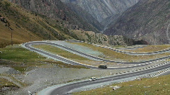 Mountain road 9 Stock Footage