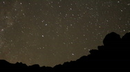 AstroPhotography Perseid Meteor Shower 17 Timelapse x230 Zoom Out TU Milky Way Stock Footage