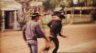 Old West Show Shootout, Floridaland, 1967 Stock Footage