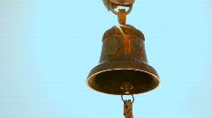Golden bell Stock Footage