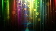 Abstract glowing background with particles.  Loopable Stock Footage
