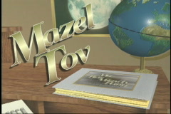 1806 Bar Mitzvah Album-Closing Stock Footage