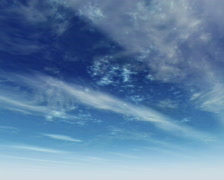 Clouds  blue sky timelapse PAL - stock footage