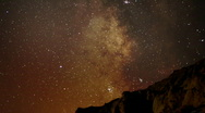 Stock Video Footage of AstroPhotography Time Lapse 18 Milky Way Galaxy Zoom in x120