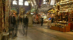 Grand Bazaar, Istanbul 01 Stock Footage