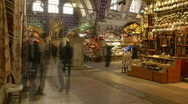 Stock Video Footage of Grand Bazaar, Istanbul 01