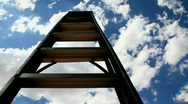 Stock Video Footage of Stairs To Heaven Time Lapse