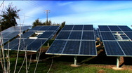 Clean Sustainable Solar Power Stock Footage