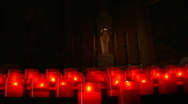 Stock Video Footage of church candle 01