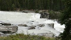 Waterfall Athabasca top P HD 7551 Stock Footage