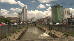 Avenida do Estado Stock Footage