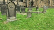 Stock Video Footage of Churchyard