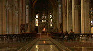 Stock Video Footage of lissone cathedral 03
