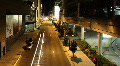 Headlights on Downtown Street Timelapse Footage