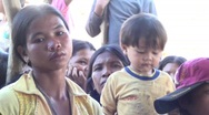 Stock Video Footage of Cambodian Woman at clinic