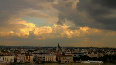 Scenery02 Budapest-Hungary Stock Footage