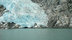 Glacier Northwest at water edge P HD 8346 Stock Footage