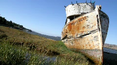 Shipwreck 5 Stock Footage