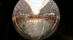 Mirror Ball Stock Footage
