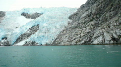 Glacier Northwest from ship P HD 8328 Stock Footage