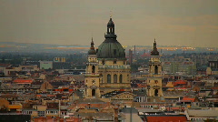 St Stephen Basilica 01 Budapest Hungary Stock Footage