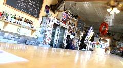 Roadside Cafe - stock footage