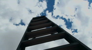Stock Video Footage of Time Lapse Upward Path