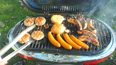 Summer BBQ 2 Stock Footage