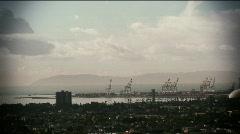 Harbor,tanker,Long Beach-35,36,41  Stock Footage
