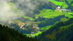 In The Alps 05 Clouds Timelapse Stock Footage