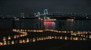 Stock Video Footage of Odaiba - Seaside Lights 6