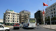Street of Tunis, Tunisia Stock Footage