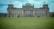 Stock Video Footage of jHD - City - Berlin - Reichstag 00009