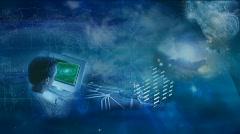 Telecommunication Backround Stock Footage