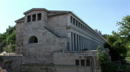 Stock Video Footage of Stoa Agora Tour-10