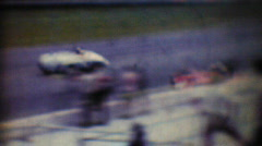 Sports Cars, Daytona 1965 Stock Footage