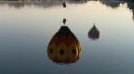 Hot Air Balloon Stock Footage