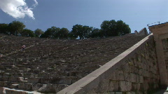 Ancient Theater of Epidauros - 2 Stock Footage