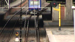 Train tracks Stock Footage