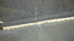 Mine trucks Kennecott timelapse P HD 0820 - stock footage