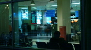 Airport timelapse 2 Stock Footage