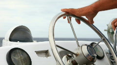 wheel boat - stock footage