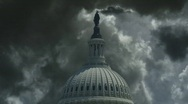 Stock Video Footage of US Capitol Storm