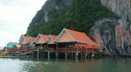 "Stock Video Footage of Muslim ""Floating"" Village in Phuket, Thailand"