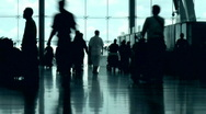 Stock Video Footage of Airport People